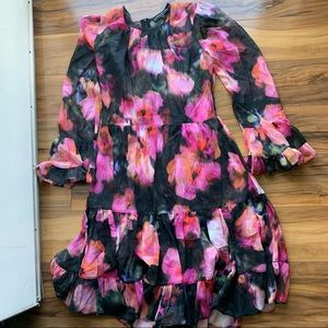 Generation love multicolored floral dress Xs